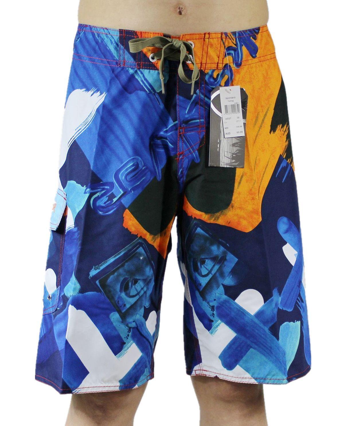 Ücretsiz Kargo Polyester Rahat Düşük Moda Şort Mens Hızlı Kuru Surf Pantolon Swim Sandıklar Mayo Swim Pantolon Bermuda Şort Kurulu Şort