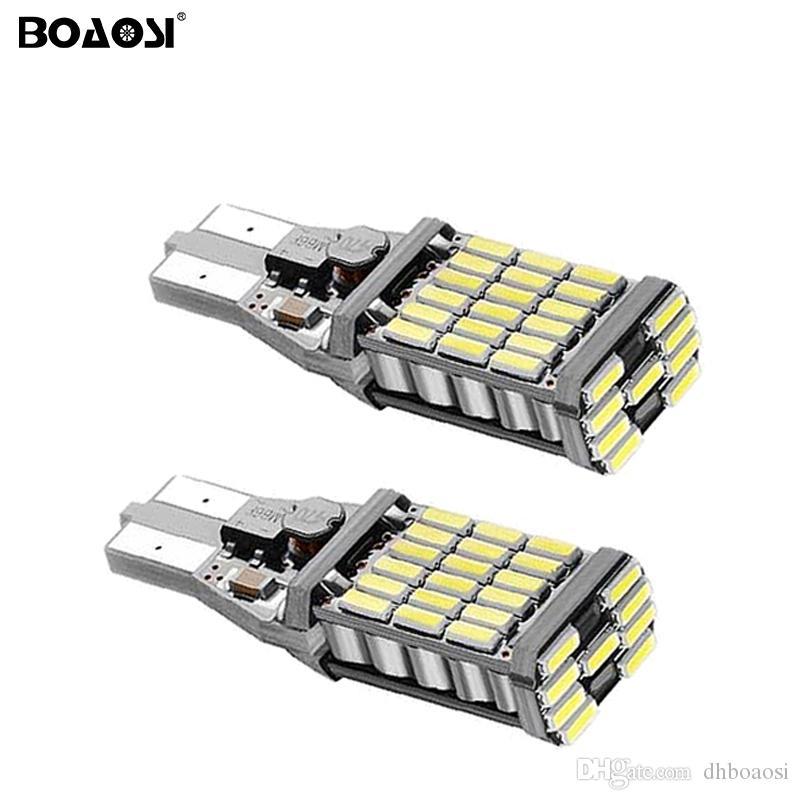 Haute Puissance CREE Chip 4014 T15 W16W LED Lumière De Secours 12 V 24 V Voiture Feux de Renversement Ampoule Clignotant De Frein Lumière De Brouillard Lampes