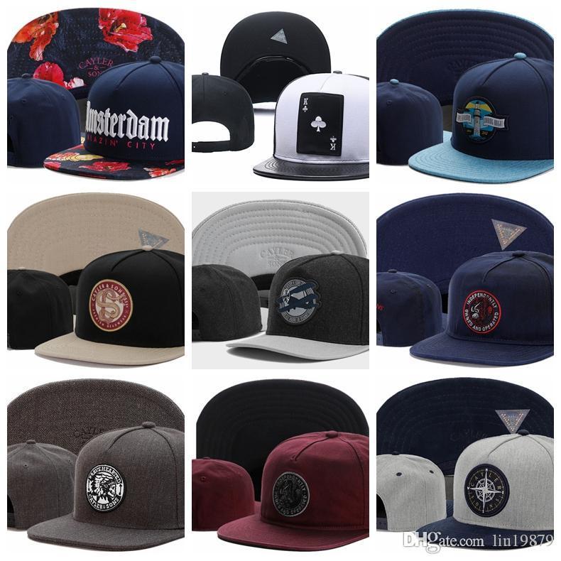 2018 summer style Cayler & Sons fashion cotton baseball caps snapback hats for men women Men's Visors bone gorras wholesale
