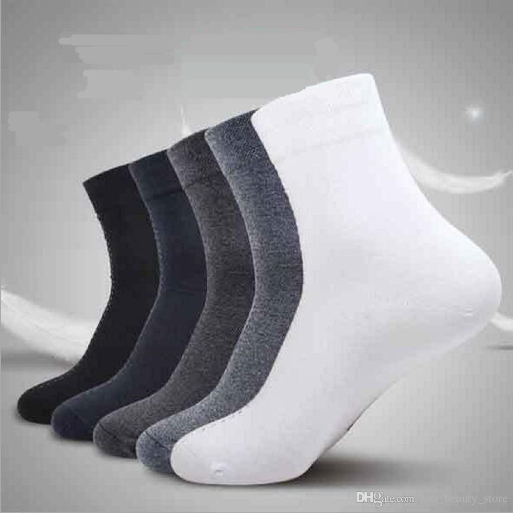 5 paires en gros nouvelle marque de base coton hommes chaussettes creuses respirant chaussettes d'hiver haute qualité chaussette pour hommes