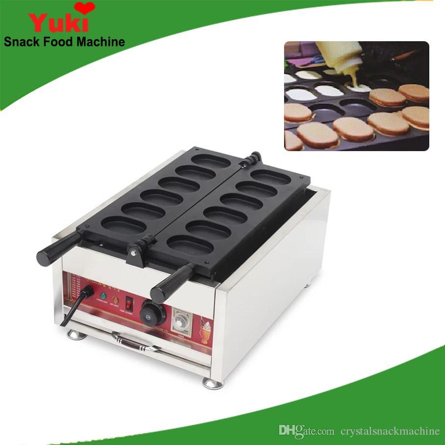 Yumurta taiyaki kek fırın Tayvan aperatif ekipmanları kırmızı fasulye sandviç kek yapma makinesi NP-785 ticari elektrikli yumurta doldurma kek ...