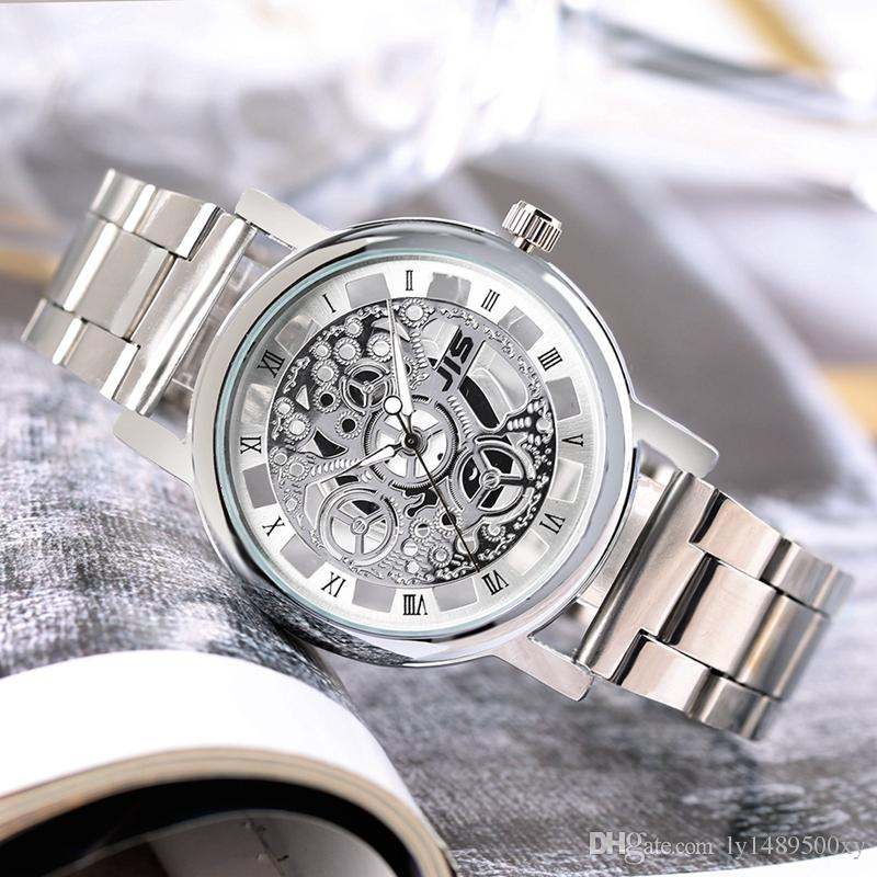ladies steel jis wristwatches watch stainless casual wrist quartz quality watches men high brand women fashion