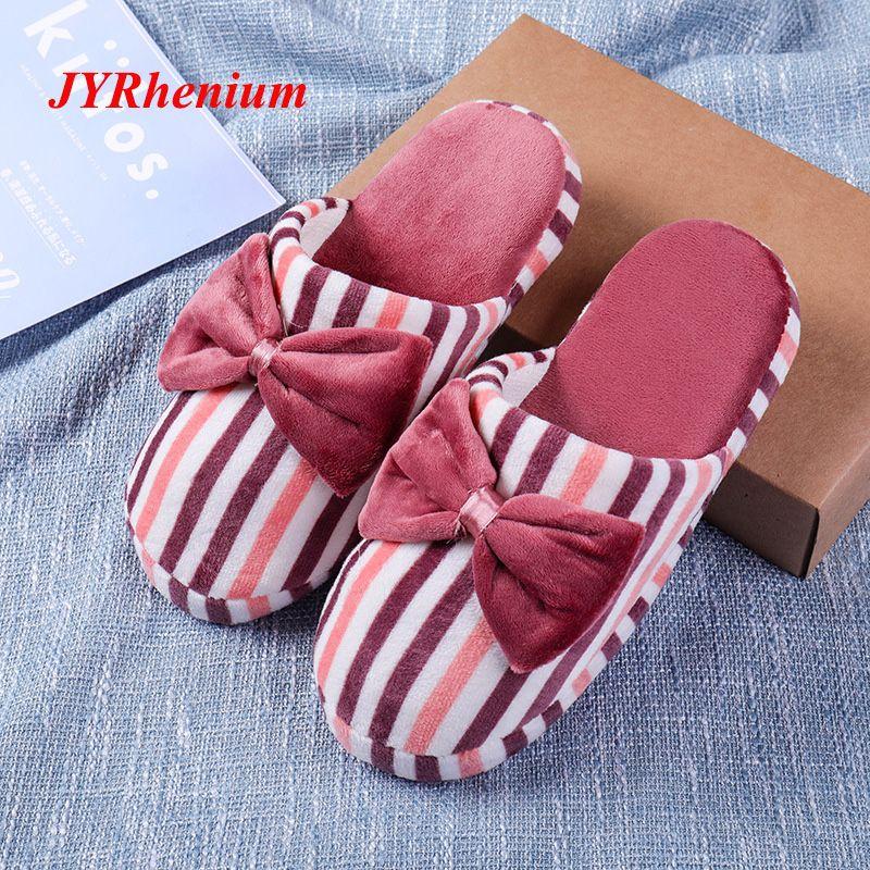 vendita all'ingrosso donne pantofole pantofole amanti pantofole unisex casa pantofole morbido peluche appartamenti pantofole in cotone dolce signore scarpe grande formato 36-45