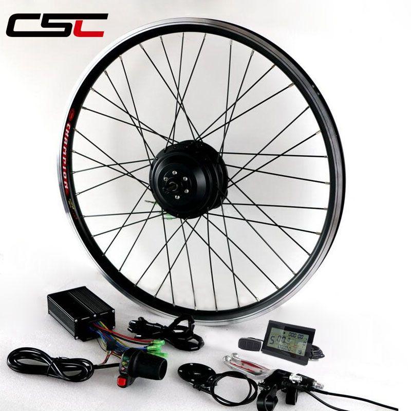 E BIKE Kit de conversion 36V 250W 350W 500W électrique moteur roue de vélo pour 20 pouces - 29 pouces 700C électrique Kit de conversion de vélo