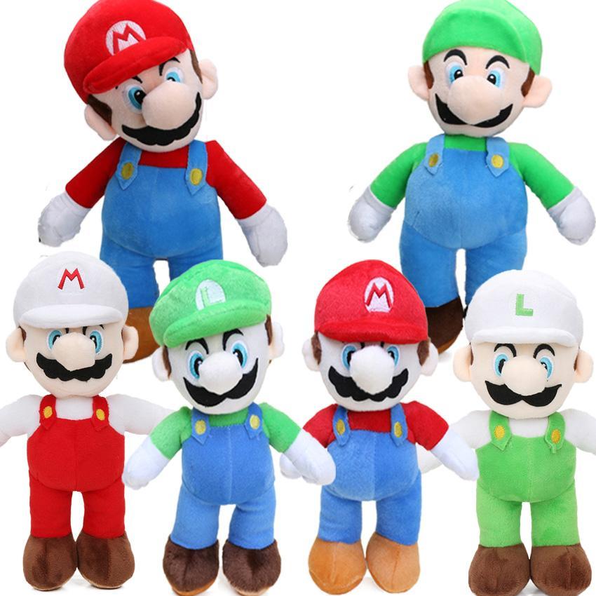 2020 6styles Game 25cm Super Mario Bros Luigi Yoshi Soft Plush