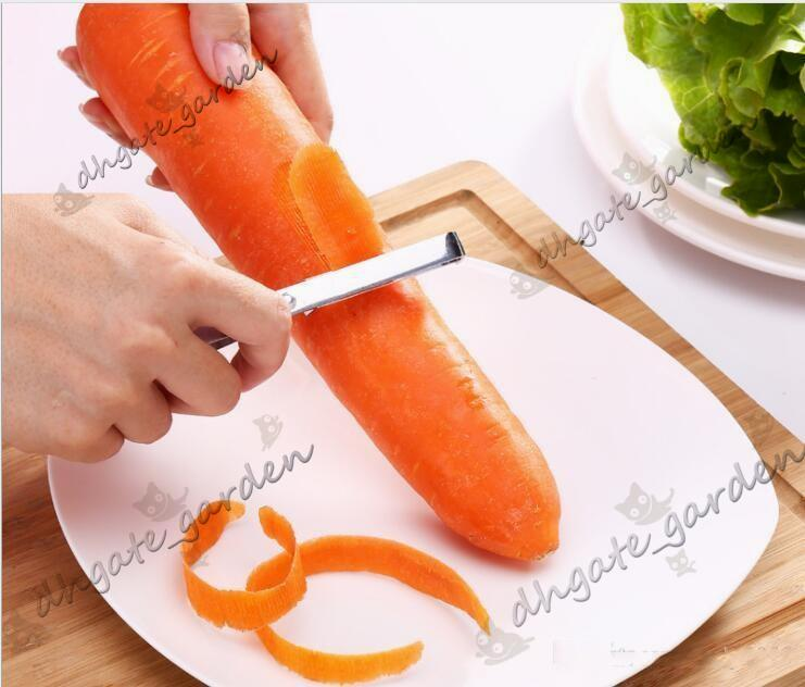 High quality Stainless steel fruit peeler Fruit and vegetable plane Multifunctional kitchen gadget OPP bag package