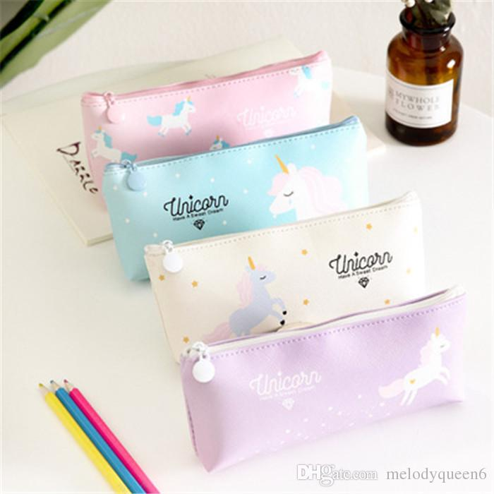 Cute Unicorn Pencil Case by