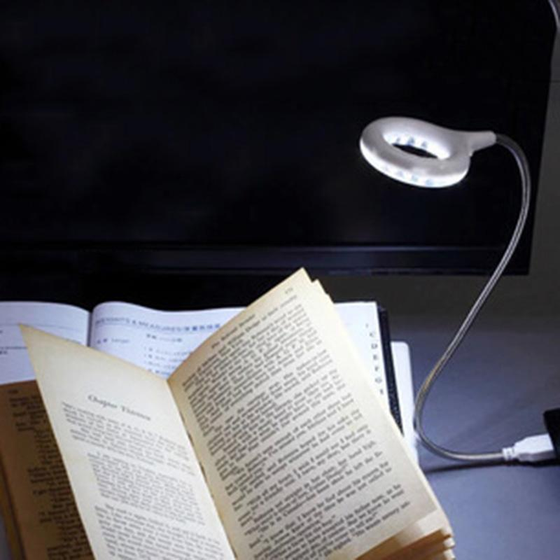 USB Led Light Portable Lamp Book Light Desk Table Lamps For Laptop Notebook Office Work Student In Bed Reading Night Lights