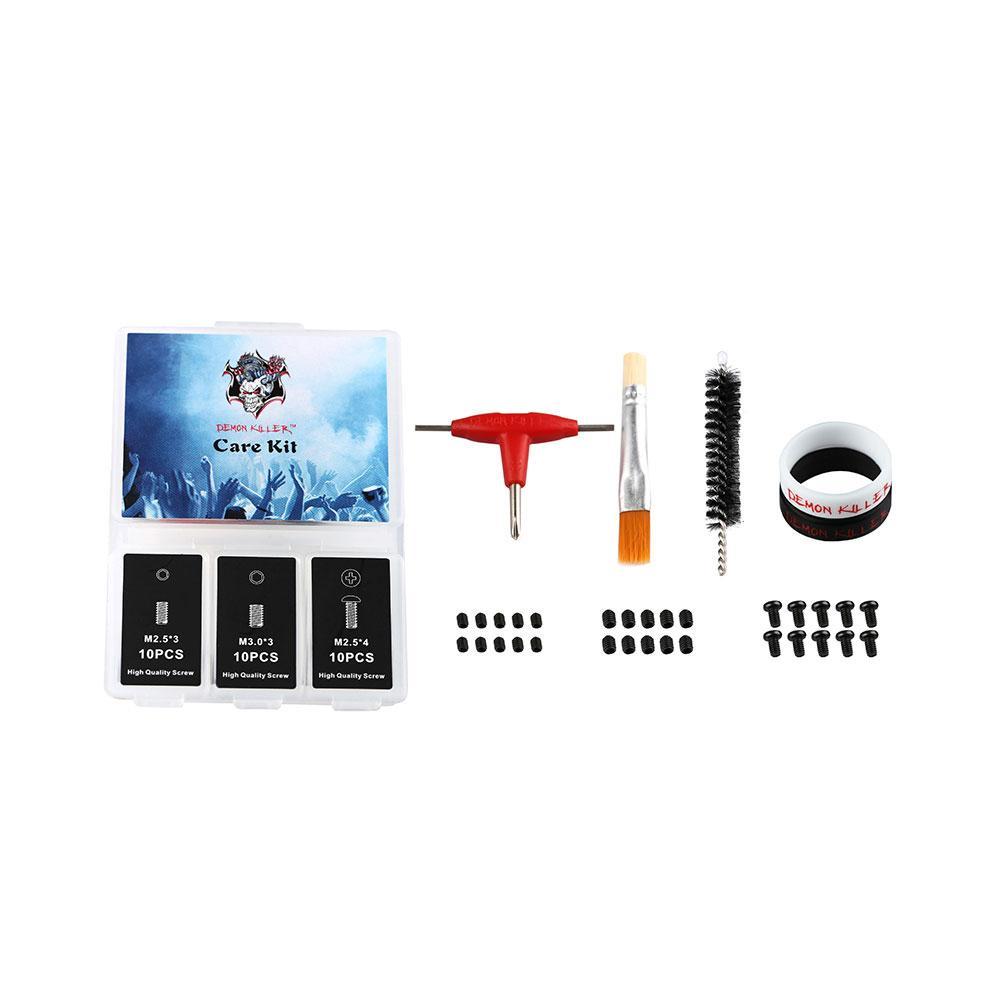 Kit de herramientas de bricolaje original Demon Killer Care o kit de herramientas de bricolaje multifunción RTA / RDA / RDTA E cig