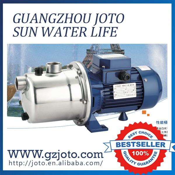 Type SZ075BD-B 220v 50hz stainless steel jet high pressure water jet cleaning pump