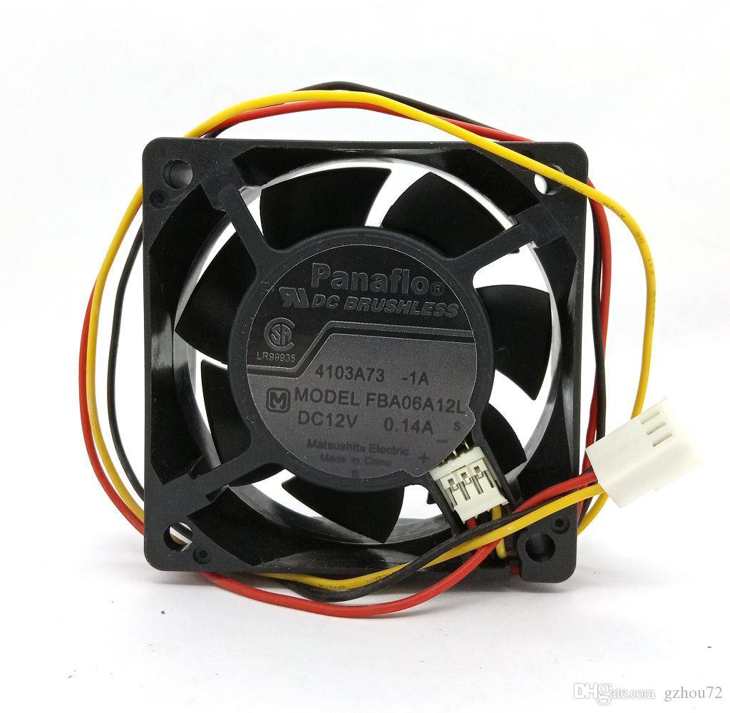 Neue Original NMB 6 CM 60 * 60 * 25 MM FBA06A12L 12 V 0.14A Computer lüfter