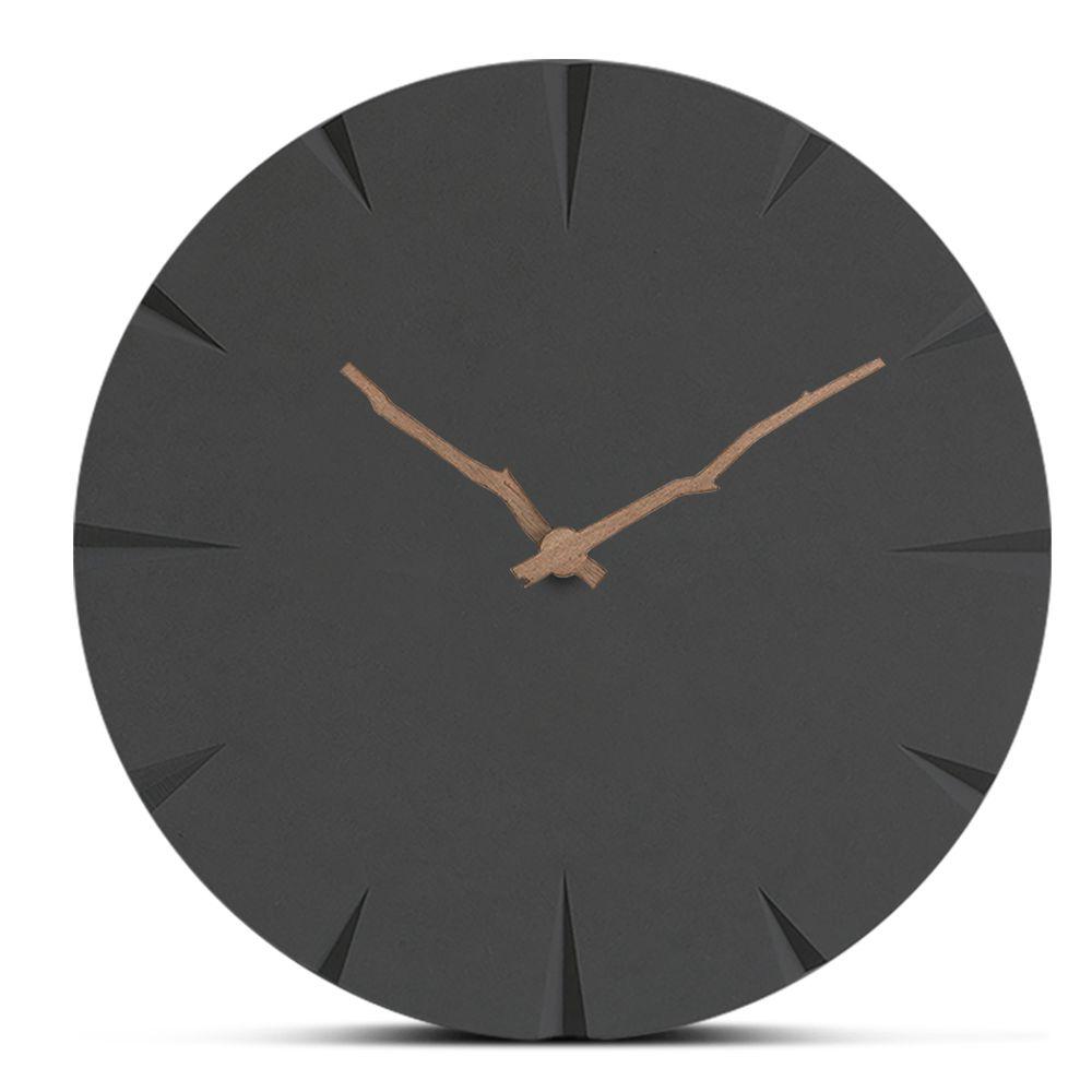 Großhandel Europa Holz Wanduhr Modern Minimalistischen Wohnzimmer Hängende  Uhren Bedside Handmade Mute Holz Uhr Wohnkultur Kreative Uhr Von Caley,