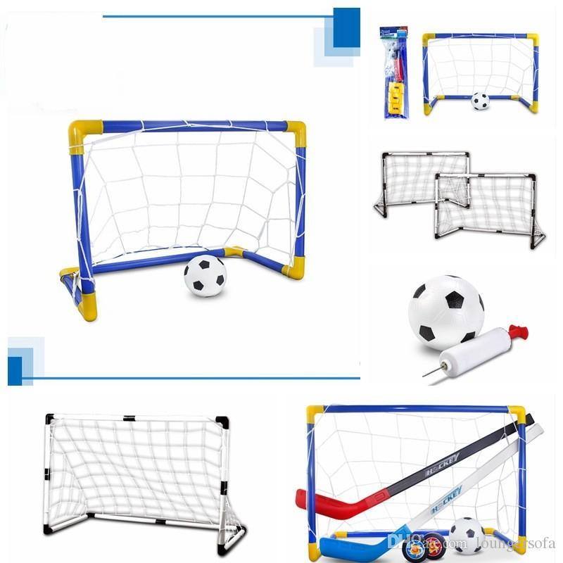 DIY Football Door Extra Large Size Outdoors Children Toy Kindergarten Abs Sports Toys Plastic Ice Hockey Portable Small 29 8ks cc