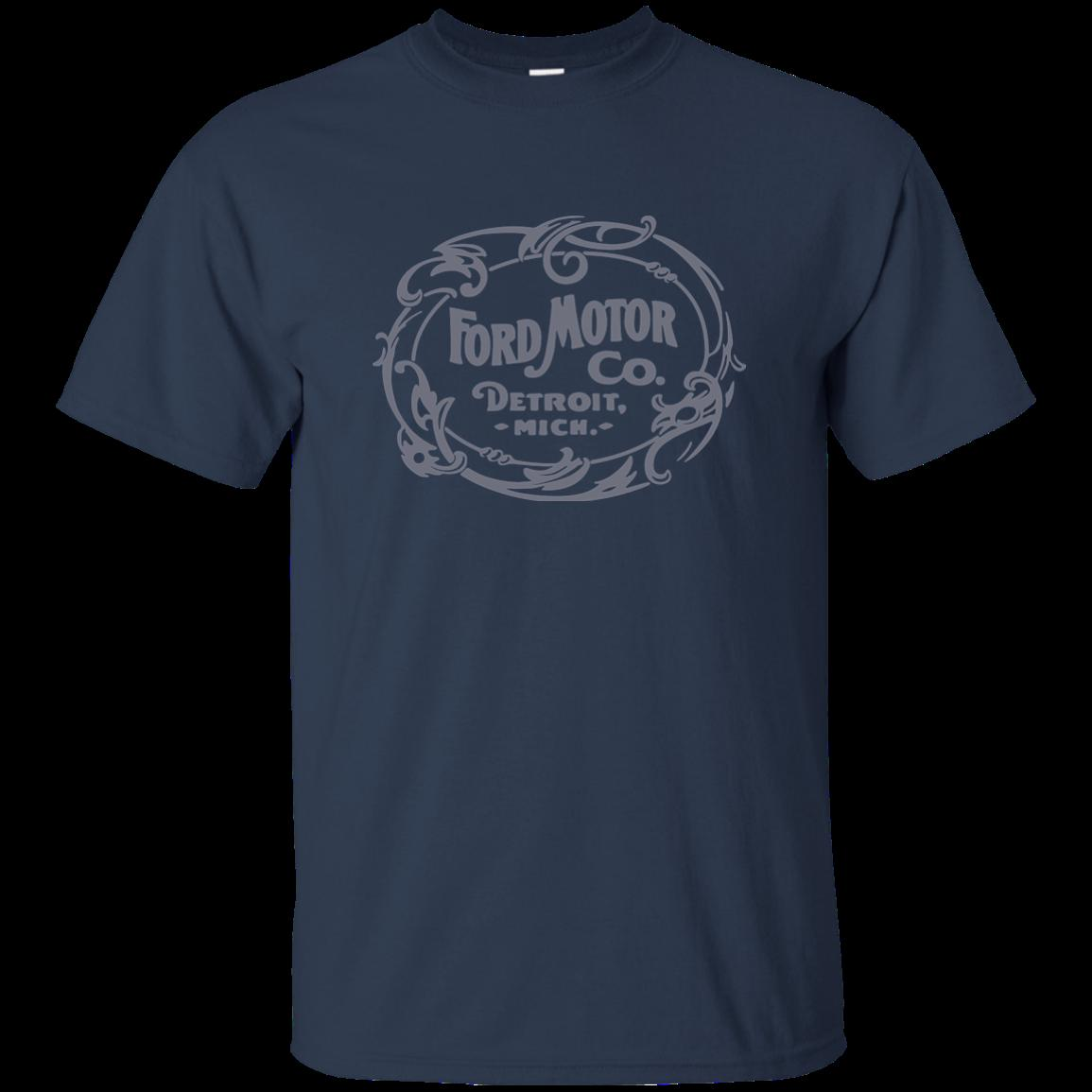 Graphic Cotton T Shirt Short /& Long Sleeve Ford Motor Company