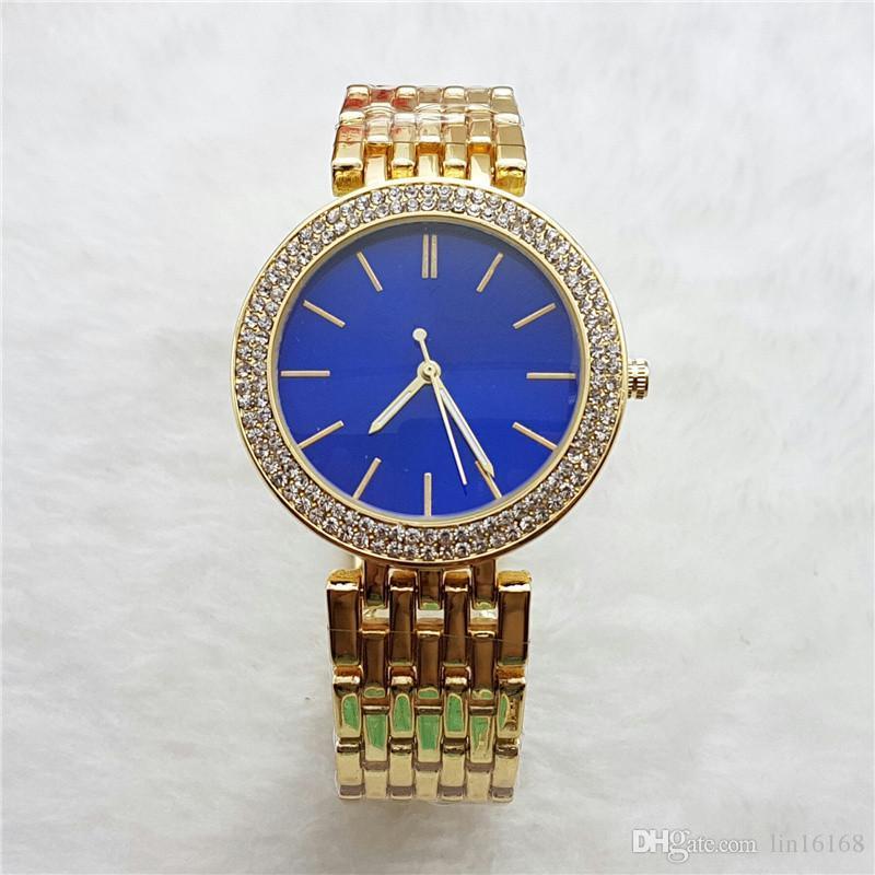 2017 패션 럭셔리 캐주얼 여성 시계 남여 석영 시계 여성 아날로그 손목 시계 Stianless 스틸 Relogio 무료 배송을보고