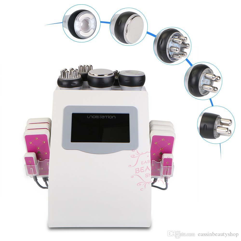 Эффективная сильная двухполярная ультразвуковая радиочастота вакуума кавитации rf уменьшая оборудование красотки потери веса вакуума машины