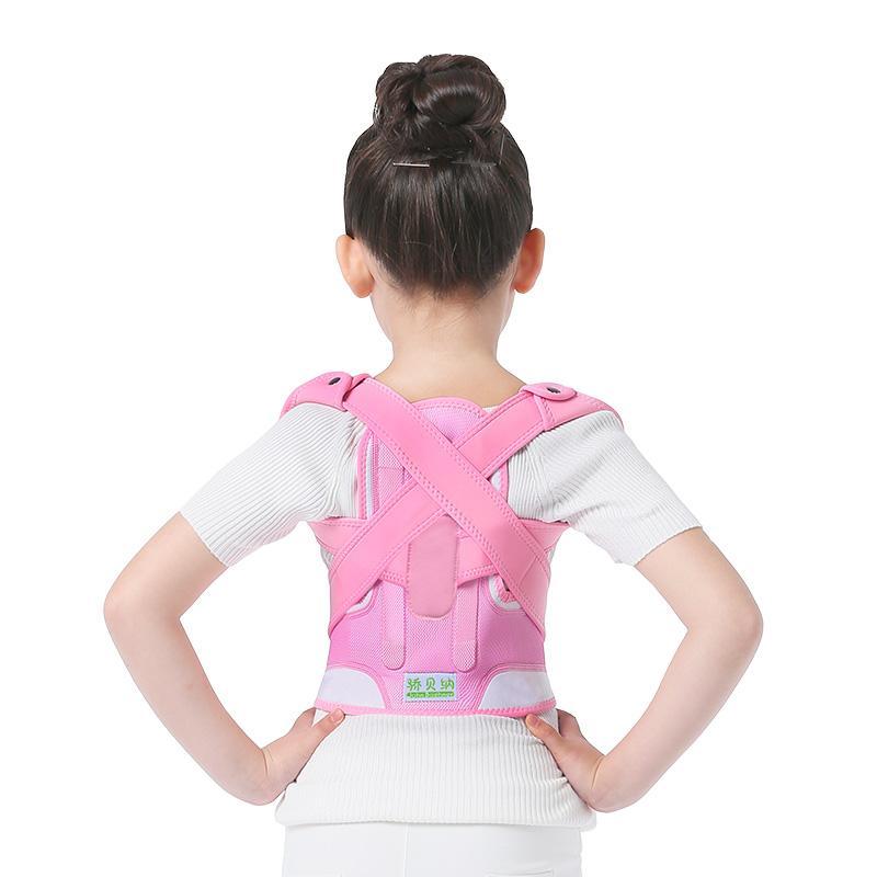 Les enfants enfants réglables magnétique Posture Correcteur réglable dos épaule soutenant Back Corset Brace pour unisexe adulte