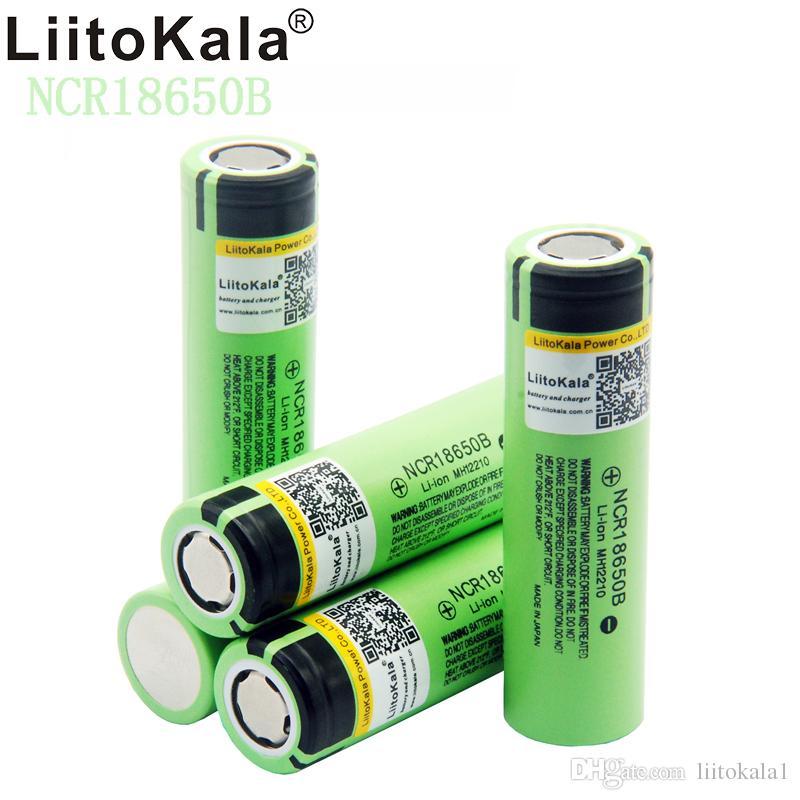 18650 3400mA Nueva original NCR18650 3400 34B recargable de ion de litio para Panasonic Tipo 18650 3400 capacidad