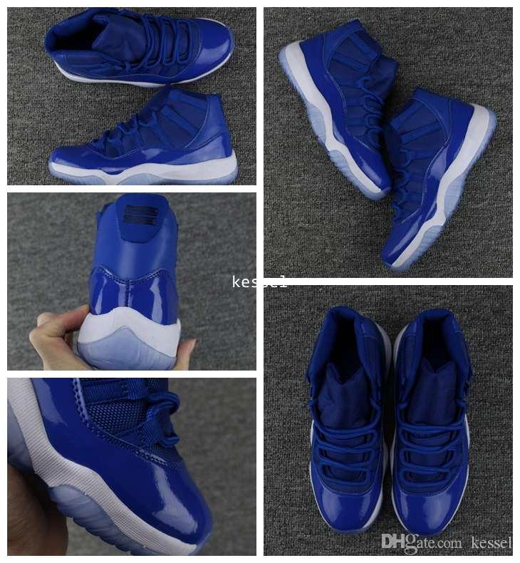 XI Royal Blue Basketball Shoes