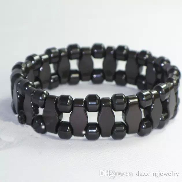 High Quality Negative Ion Natura Black Brown Tourmaline energy Bangle Wrist bracelet health germanium bracelet powerful benefits