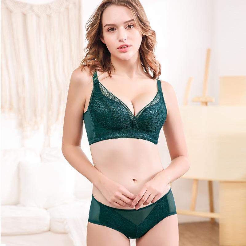 2020 Modle Row Breasted Womens Comfort No Steel Ring Adjustment Type Lace Bra Bra Set Underwear Set Lingerie From Qingchung 18 63 Dhgate Com ◄ uso del moodle ventajas y desventajas. 2020 modle row breasted womens comfort