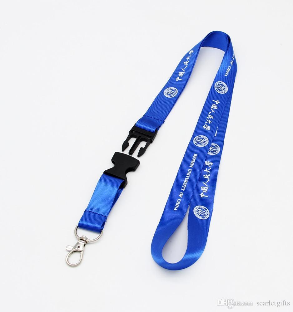 Fábrica barata Directamente ID de personal de la empresa Pase de empleo Cordón con impresión de logotipo de serigrafía Entrega rápida Envío gratis