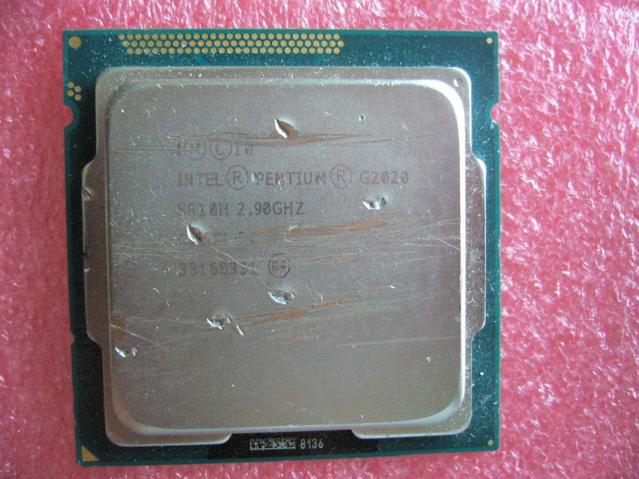 CANTIDAD 1x INTEL Pentium CPU G2020 2.9GHZ / 3MB LGA1155 SR10H rayones