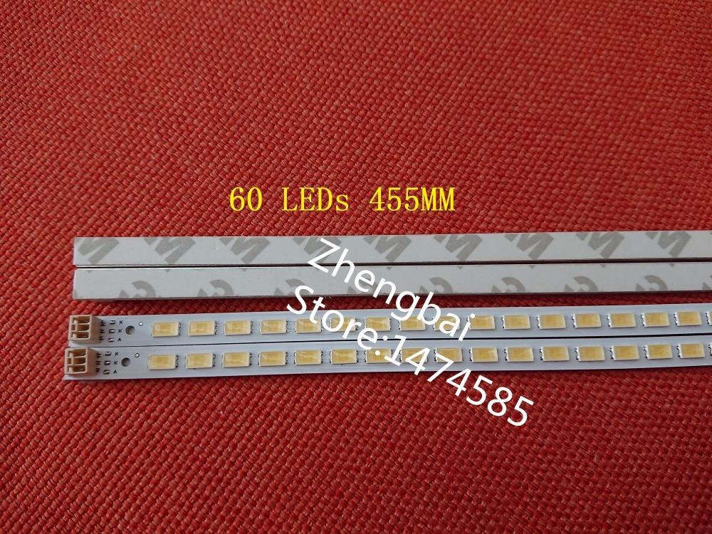 Бесплатная доставка 2 шт./лот 40-вниз LJ64-03029A LTA400HM13 светодиодные ленты 40 дюймовый-L1S-60 G1GE-400SM0-R6 в 60 светодиодов 455MM