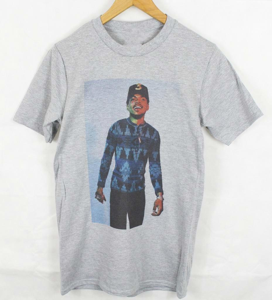 Chance the Rapper Grey T-Shirt Size S-XXXL coloring book acid rap hiphop j.cole Brand 2018 New T Shirt Man Cotton