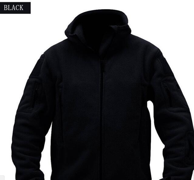 Outdoor-Bekleidung mit Kapuze Oberbekleidung Fleece Softshell Jacke Military Tactical Mann Polartec Thermal Polar mit Kapuze Oberbekleidung-Mantel-Armee-Kleidung