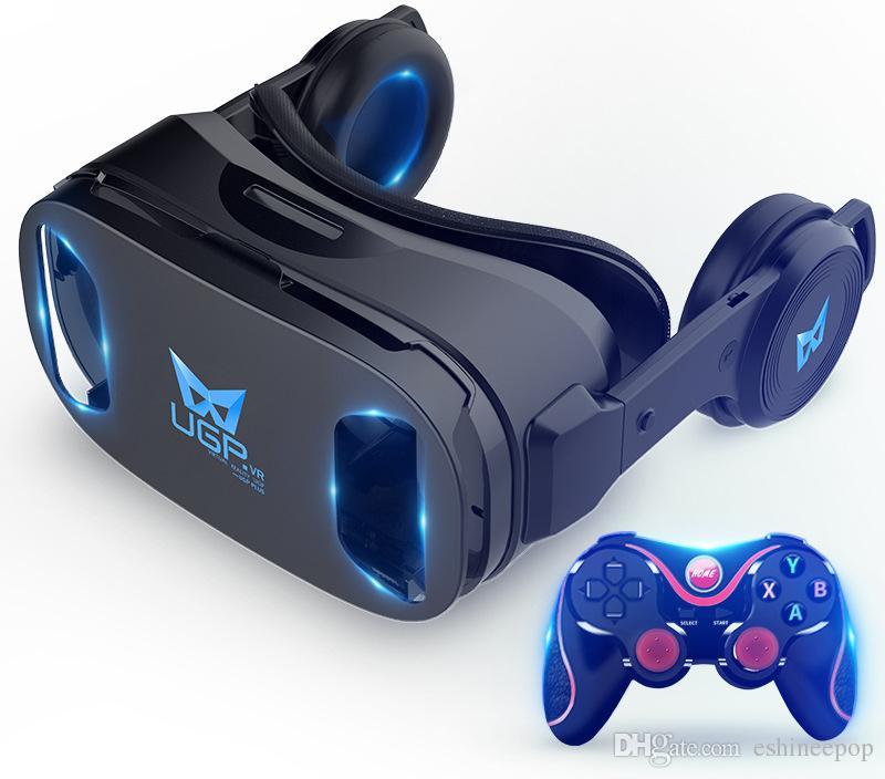 Großhandel 3d Brille Vr Brille 3d Kino Virtual Reality Maschine ...