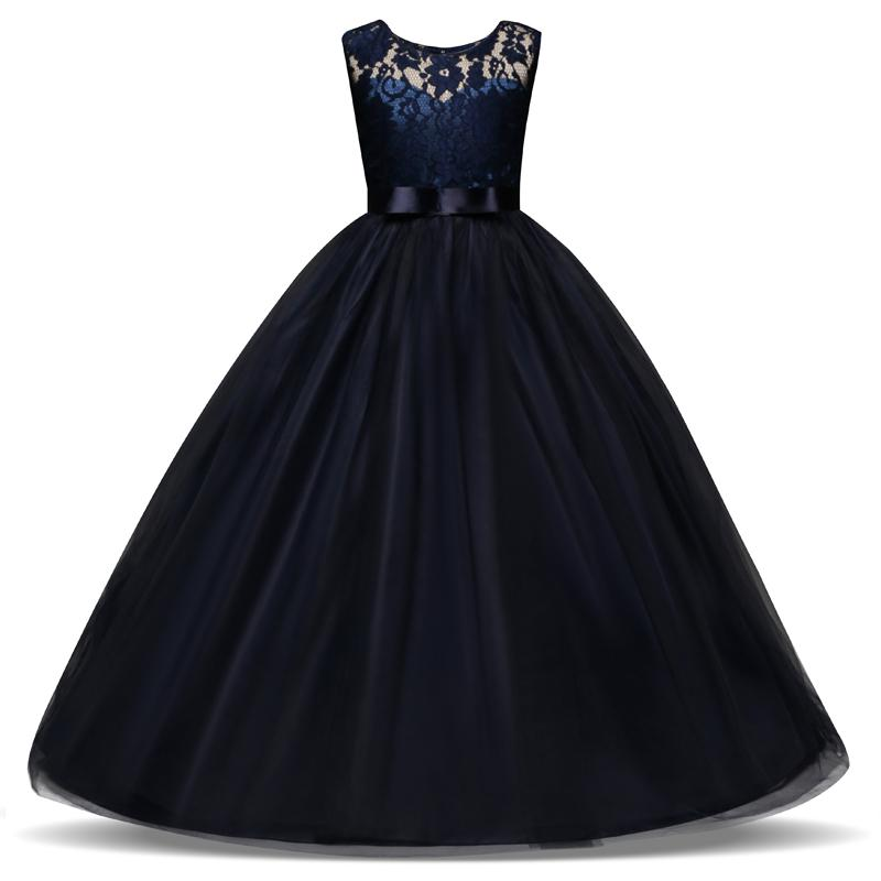 Vestiti Eleganti Ragazza 14 Anni.Acquista 5 14 Anni Vestito Da Bambino Ragazze Abito Da Sposa Lungo