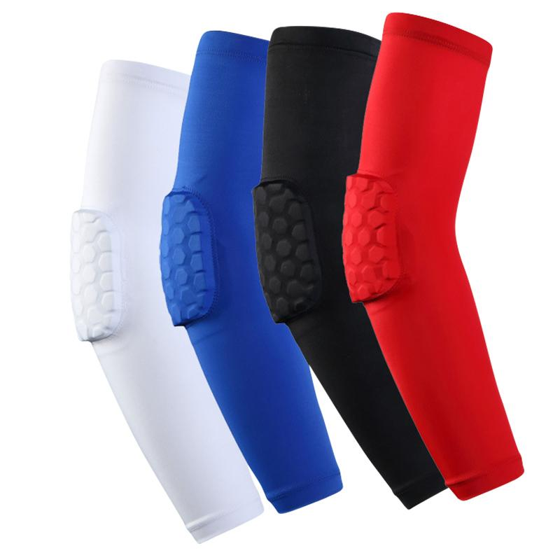 PRO protection sports basketball hive collar anti-collision elbow high-speed fast-drying polyester free shipping knee pads nursing calf