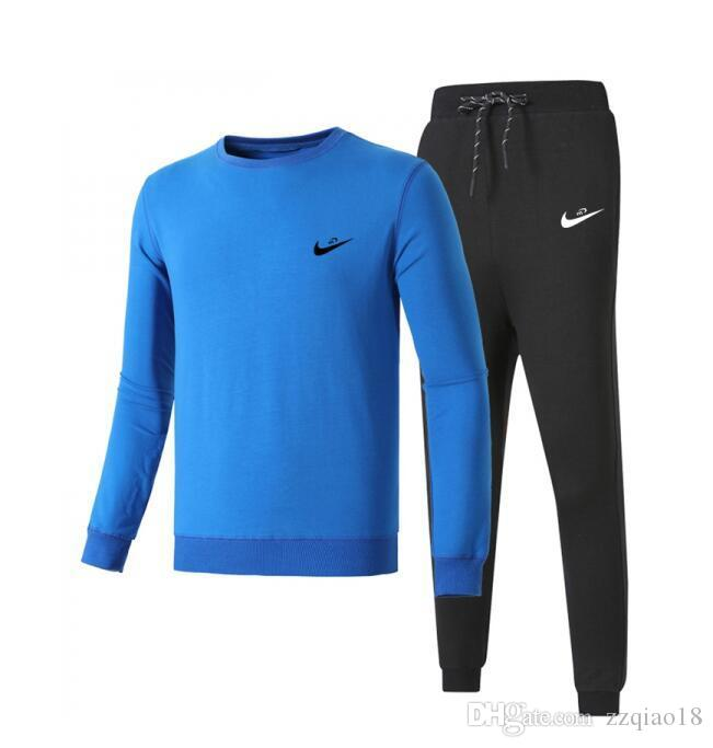 13c330c9 NIKE 2018 Tracksuit Men Luxury Sweat Suits Brand Mens Tracksuits Jogger  Suits Jacket Pants Sets Sporting Suit Hip Hop Sweatshirts 407-772