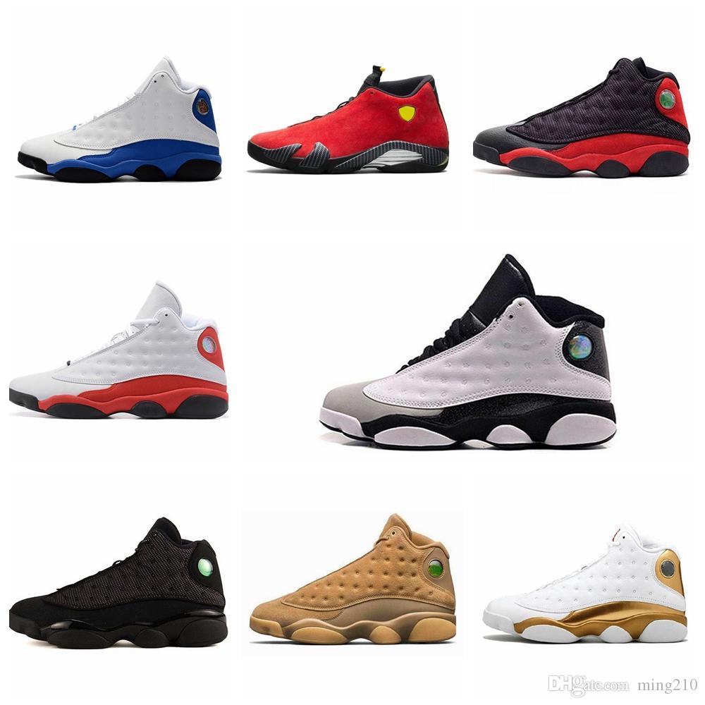 13 13 s erkek basketbol ayakkabı sneakers Phantom Hyper Kraliyet İtalya Mavi Bordeaux Flints Chicago Bred DMP Buğday Zeytin Fildişi erkek ayakkabı boyutu 13