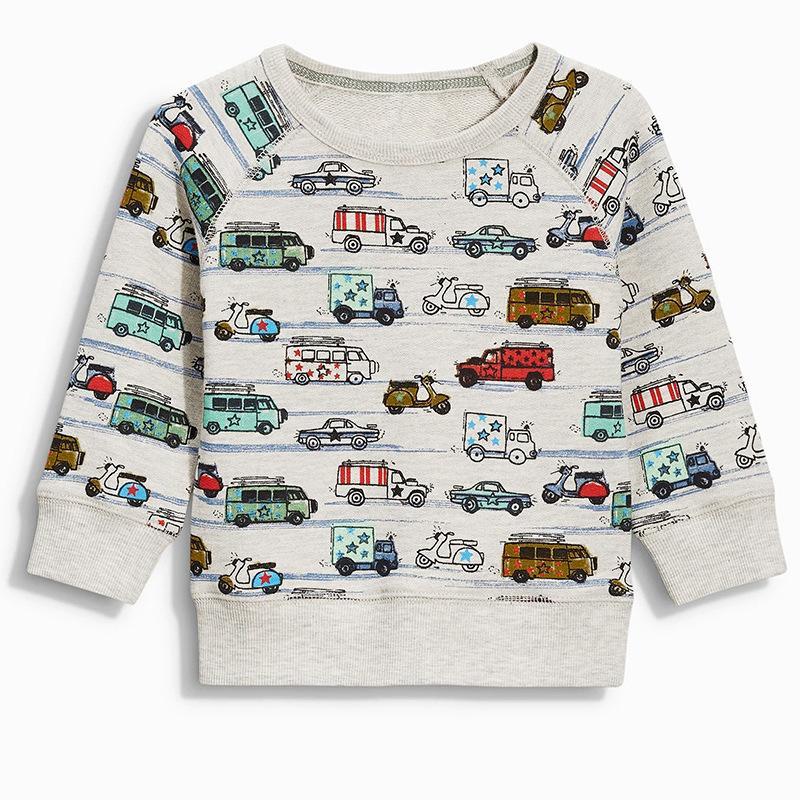 Children T-shirt for Boys Clothing Brand Baby Boys Autumn Tops Tee Shirt T-shirt Kids Clothes Boy Tshirt Factory Cost Cheap Wholesale
