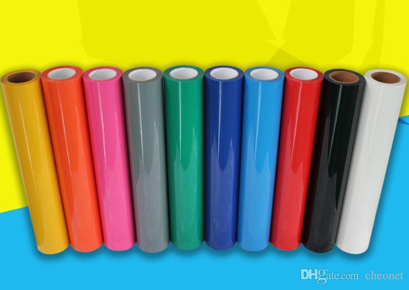 Freies Verschiffen PU-Wärmeübertragung Vinyl * 30cmx100cm * Eisen-on-Wärmepresse Schneidplotter DIY HTV