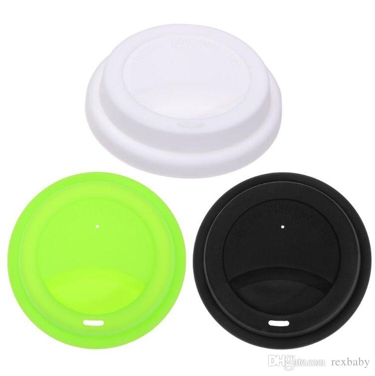 Silicone Anti-dust Glass Coffee Cup Cover Coffee Mug Seal Suction Lid Cap #Buy