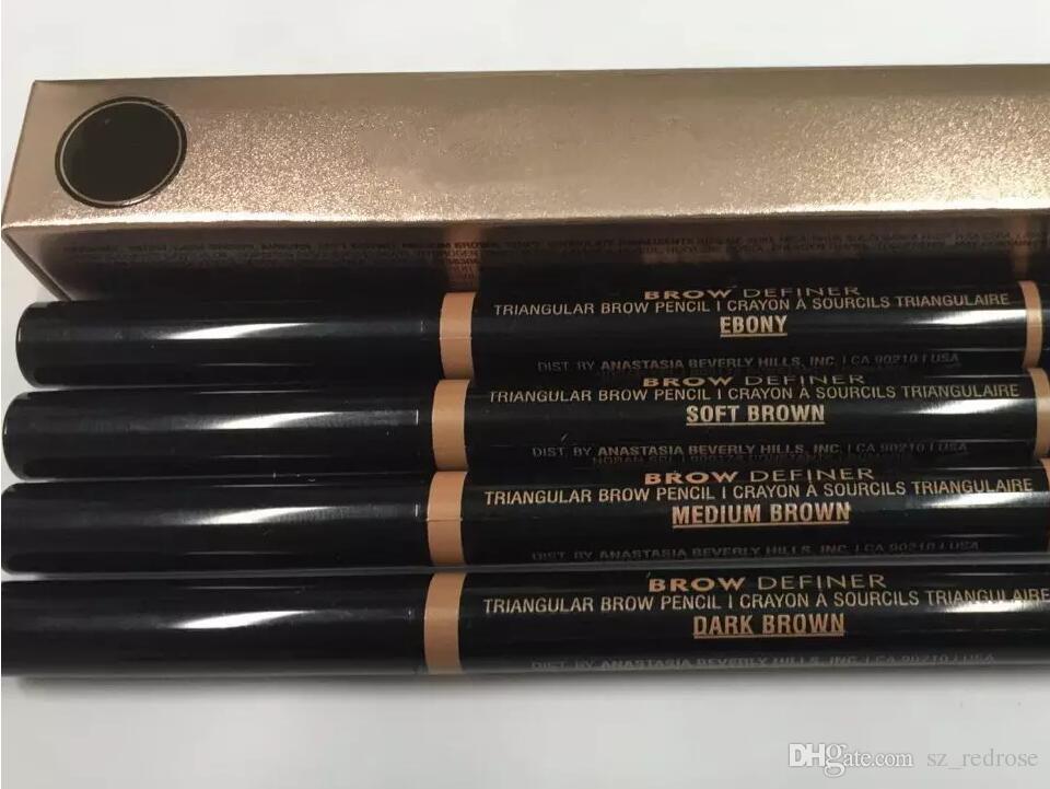 Макияж Двойной карандаш для бровей Brow Определитель ТОЩАЯ BROW PENCIL CRAYON EBONY / SOFT BROWN / DARK BROWN / MEDIUM КОРИЧНЕВЫЙ