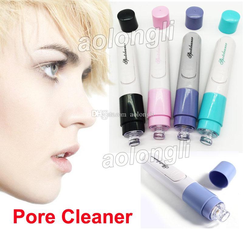 Facciale elettrico Pore Cleanser naso Rimuovere comedone del pulitore del poro della pelle del fronte di cura Deep Clean Acne Cleansing Beauty stringere i pori DHL