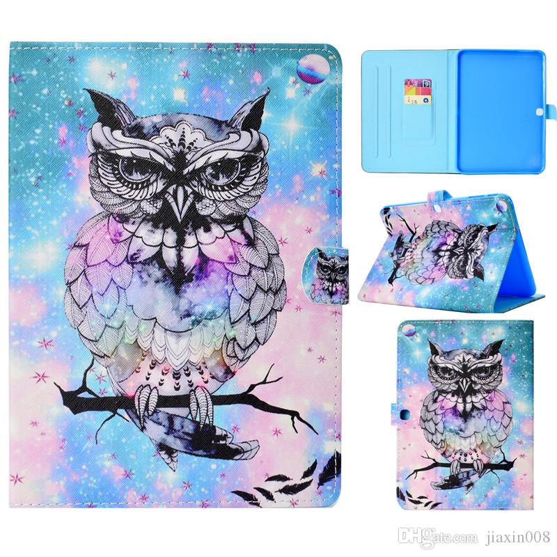 Tablets Case For Samsung Galaxy Tab S3 9.7 inch T820 Cover Painting PU Leather Wallet Bags Card slot Dormancy function QJW5EPNBTR