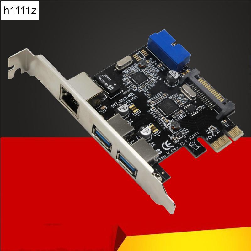 EDUP USB Ethernet Adapter 3 Port USB 3.0 Hub RJ45 Gigabit Network Card for PC