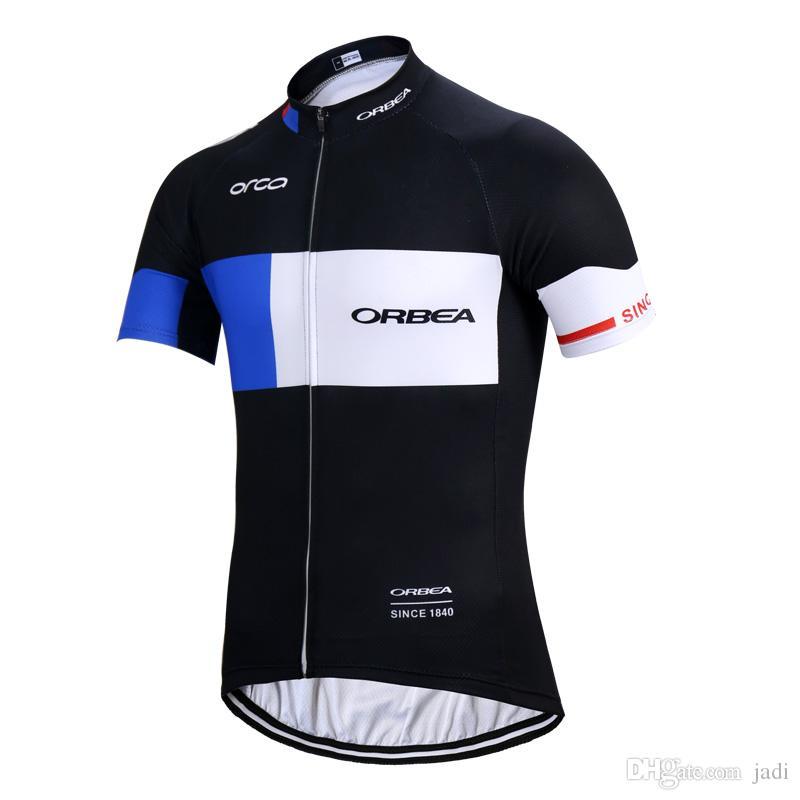 2020 Nueva Jersey de ciclo del Orbea camino de los hombres de verano camisas bicicleta MTB ropa de la bicicleta transpirable de secado rápido de manga corta Deportes K121201 Uniforme