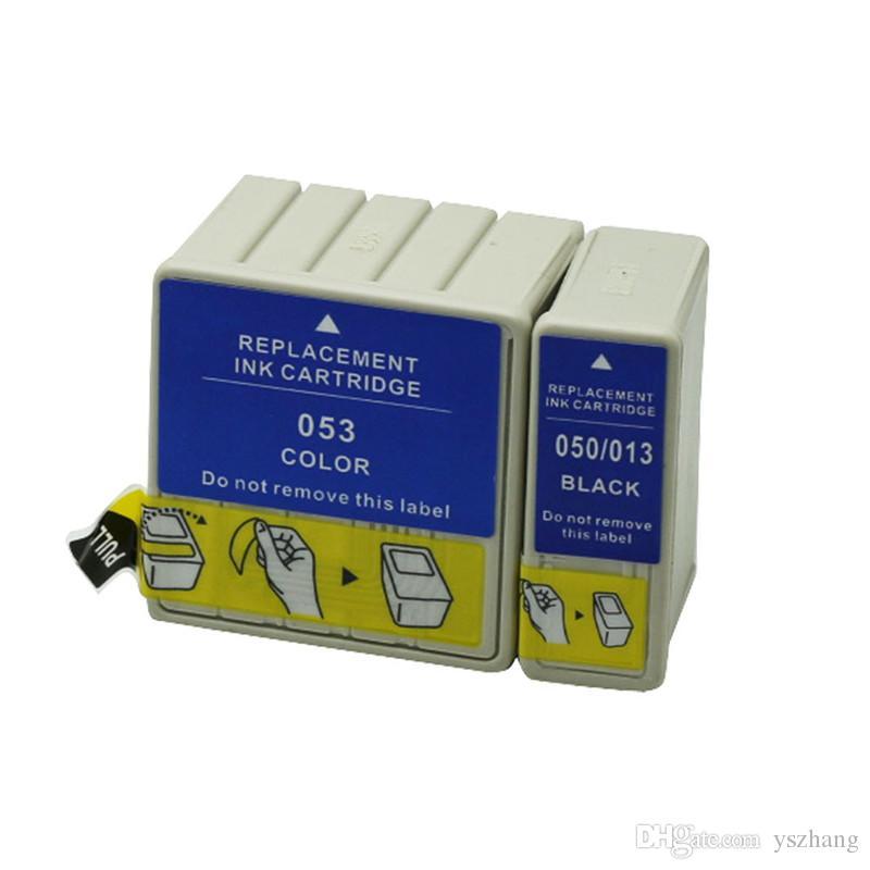 6 New Genuine Epson Stylus Color 440 460 640 660 670 Black Ink Cartridges