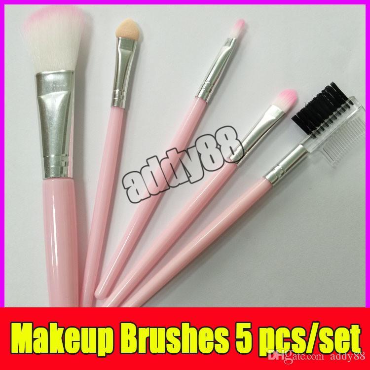 Makeup Brushes pink 5 pcs/set Eyeshadow Brush Set Blush Powder Beauty Tools Cosmetic Brush Kits