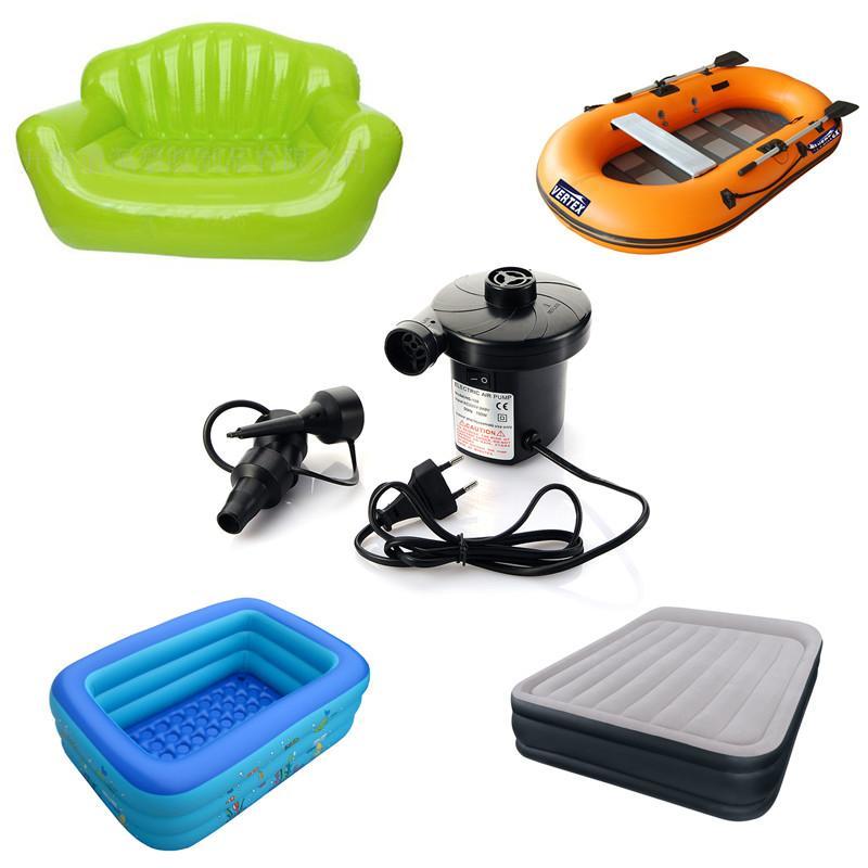 La pompa di aria gonfiabile elettrica gonfia il Reflate per la pompa gonfiabile elettrica T0.21 del divano del divano del letto di aria della barca di aria del kayak