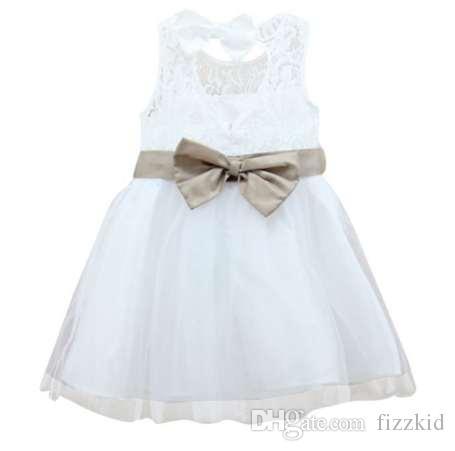Платье Принцессы Для Девочек Дети Свадьба Длинное Платье Пачка Тюль Платье 2-7 Лет