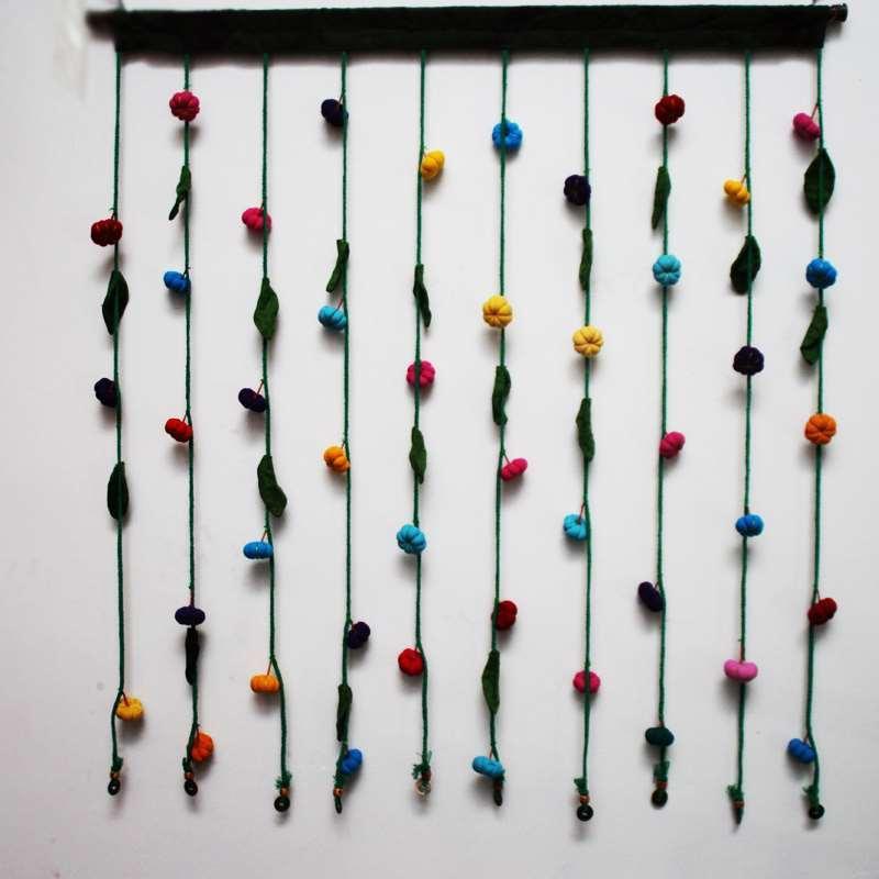 Чистая рука тыква ткань искусство тайна детская комната дверь занавес украшения дома висит занавес перегородка