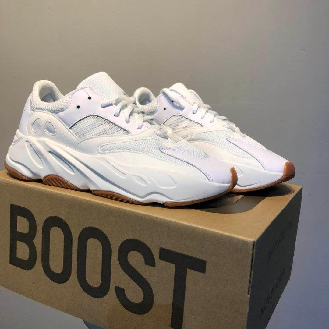 Compre Adidas Yeezy 700 Boost Vapormax Off White Supreme Nmd 700 Wave  Runner Malva Kanye West Wave Zapatos Estáticos Hombres Mujeres Negro Blanco  Azul ...