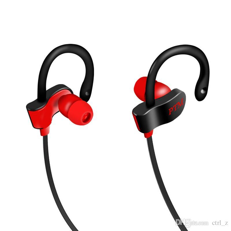 Earphone PTM TS27 Sport Running Anti-Drop Headset Ear Hook Stereo Earbuds with Mic Headphone for Phone iPhone Xiaomi Universal